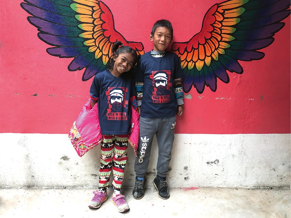 nepal-2kids-in-front-of-wings-teaser-clip