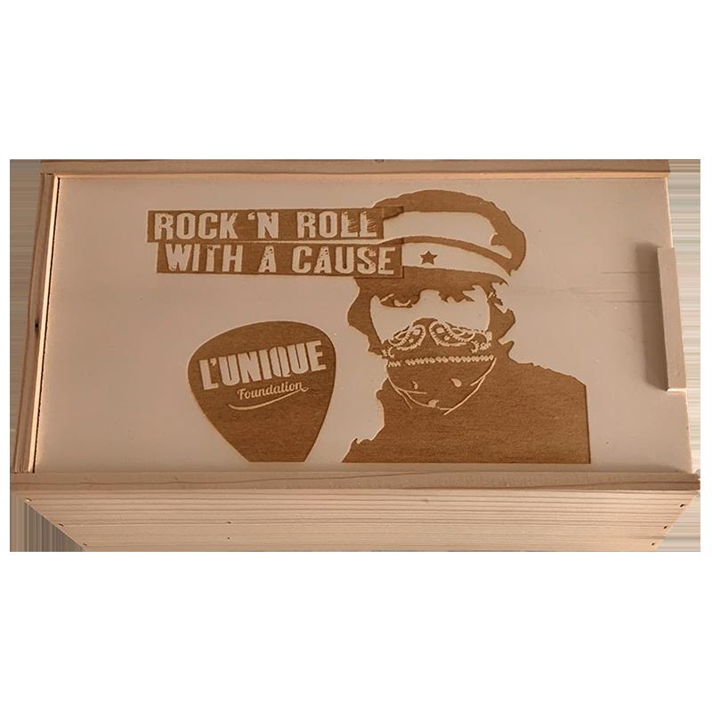 L'Unique Foundation Rock Wine gift box