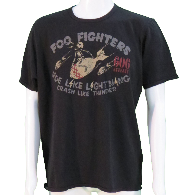 Johnson Motors T-Shirt - Foo Fighters 606 by L'Unique Foundation