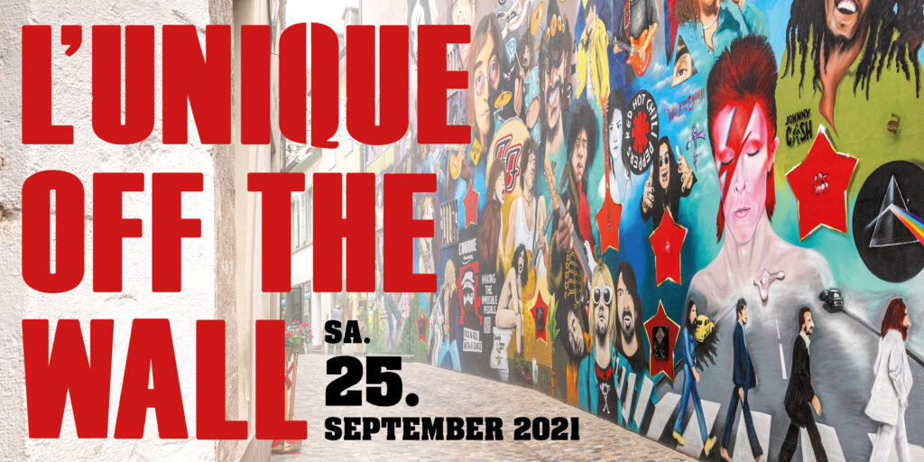 L'UNIQUE – OFF THE WALL Rock'n'Roll With A Cause Strassenfest & Rock Festival