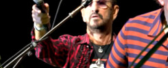 Ringo Starr's End of Year Recap 2019 featuring scenes with Ringo wearing the L'Unique Foundation T-Shirt