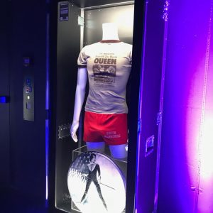 L'Unique Foundation Rock'n'Roll memorabilia on display at Baloise Session 2019