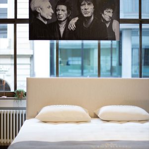 Exclusive Rolling Stones Exhibition by L'Unique Foundation at Passion for Beds in Basel