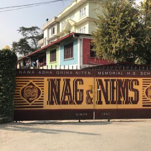 The l'Unique Foundation team has started its work at Nawa Asha Griha – a home for street children in Kathmandu, Nepal.